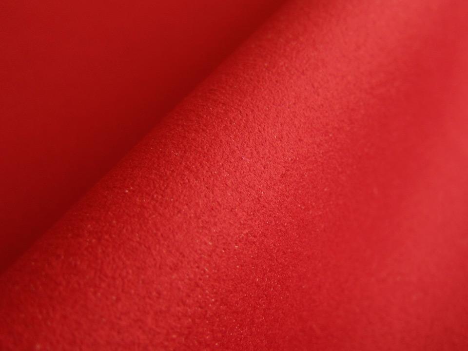 画像1: 東レ エクセーヌ 【赤〜濃ピンク 巾115】(アウトレット)