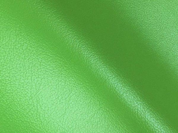 画像1: 合皮レザー生地 お手入れ簡単【難燃 広幅 黄緑】 (1)