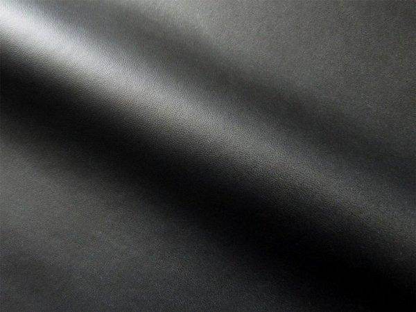 画像1: 合皮レザー生地【薄手 黒 ツヤなし】 (1)