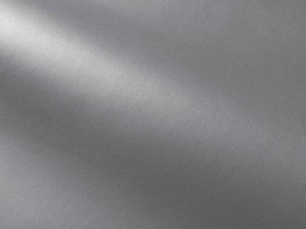 画像1: 合皮レザー生地【薄手 グレー ツヤなし】 (1)
