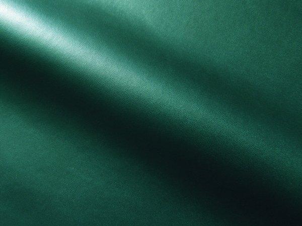 画像1: 合皮レザー生地【薄手 緑 ツヤなし】 (1)