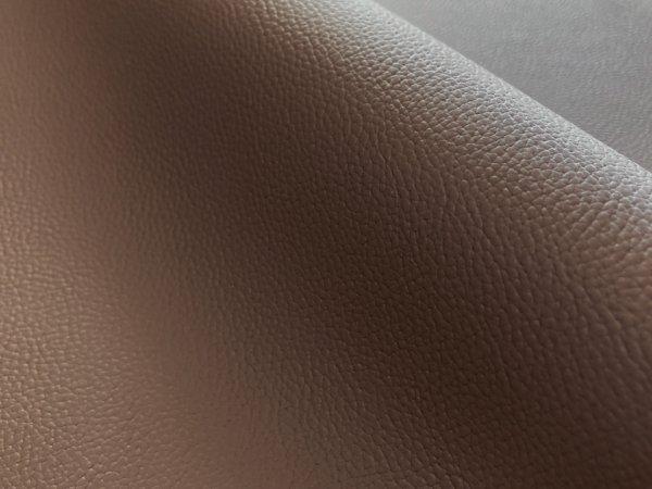 画像1: 合皮レザー生地 伸縮性抜群  難燃【超広幅 ブラウン】(アウトレット) (1)