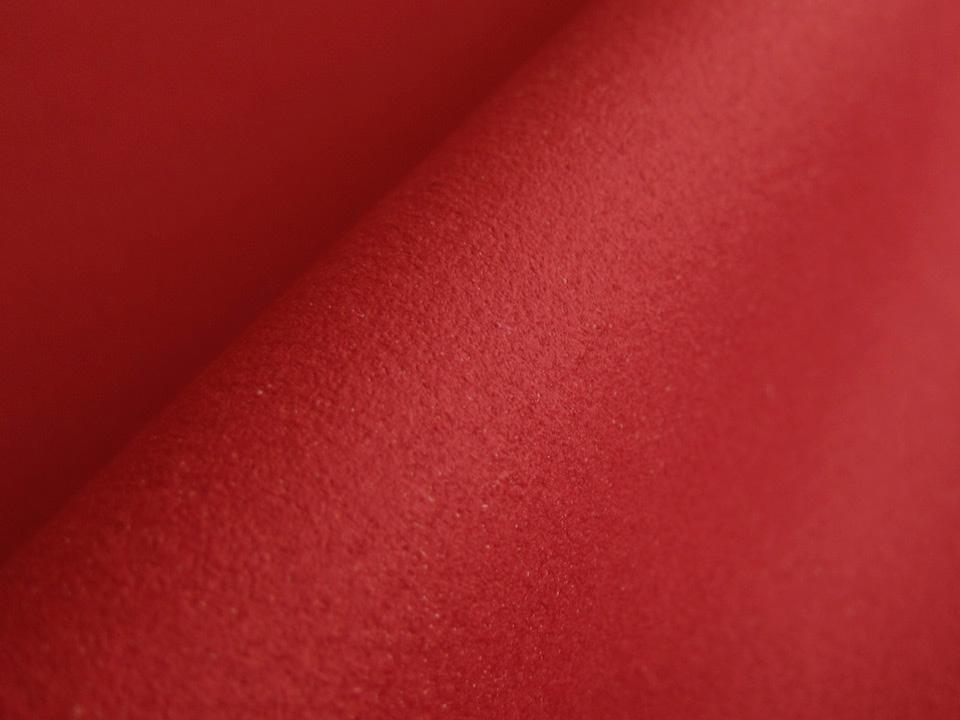 画像1: 東レ エクセーヌ 【赤 巾115 厚手】(アウトレット)