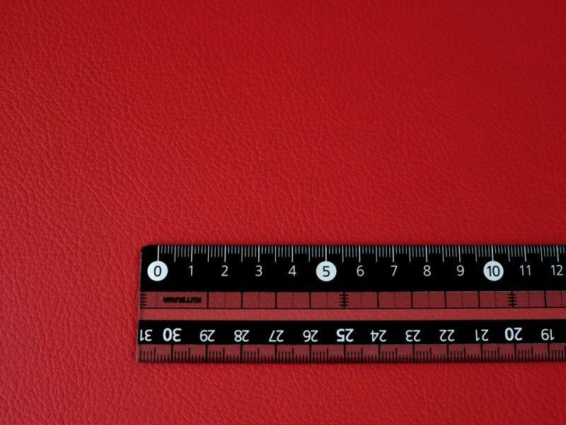 画像4: 合皮レザー生地 伸縮性抜群  難燃【超広幅 赤(ダークレッド)】(アウトレット)