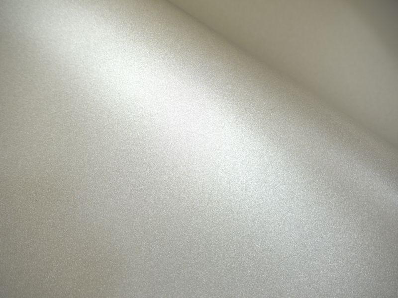 画像1: 合皮レザー生地 シルバーパール ラメ 30×100cm