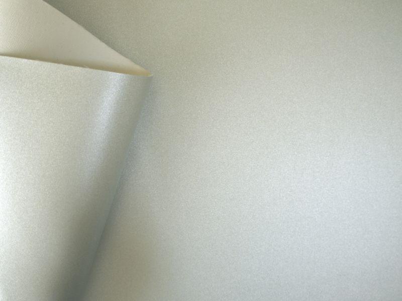 画像3: 合皮レザー生地 シルバーパール ラメ 30×100cm
