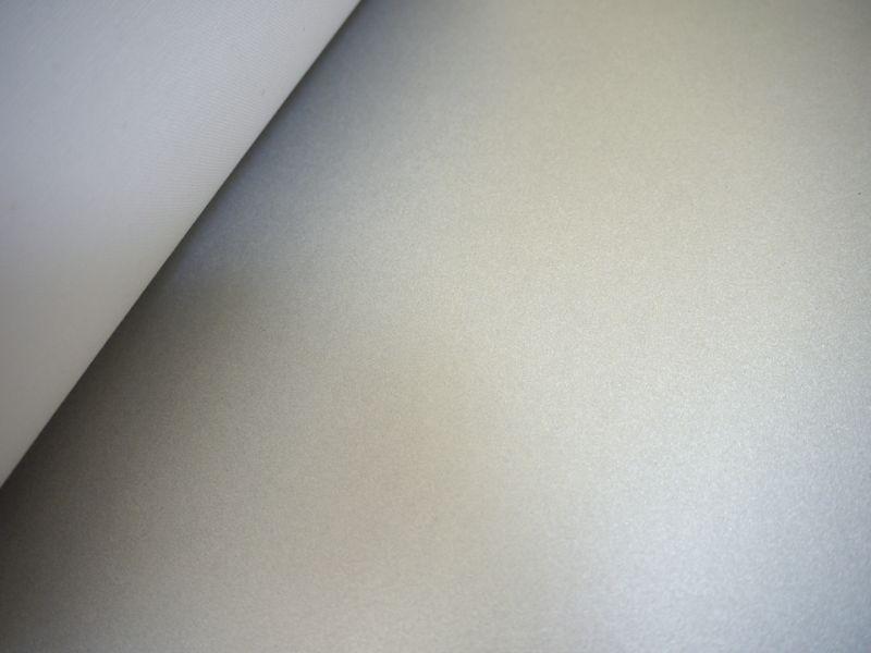 画像4: 合皮レザー生地 シルバーパール ラメ 30×100cm